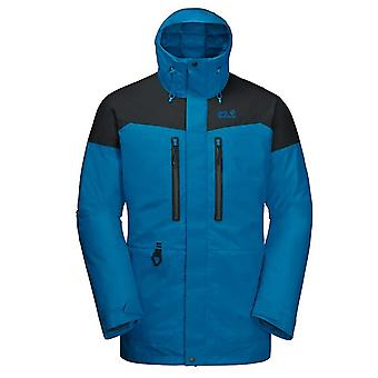 Jack Wolfskin North Ice Parka Mens Hooded Jacket Padded Coat 1111681 1361