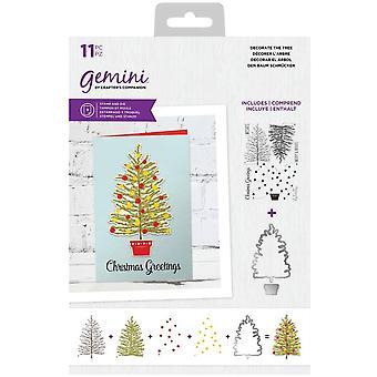 Gemini Decorate The Tree Stamp & Die