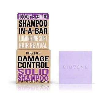 Damage Control Coconut & Keratin Solid Shampoo 40 g