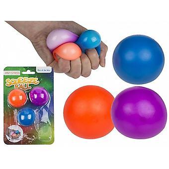 ストレスリラックススクイーズボール3パック