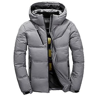 Thick Warm Down Coat Hooded - Casual Jacket