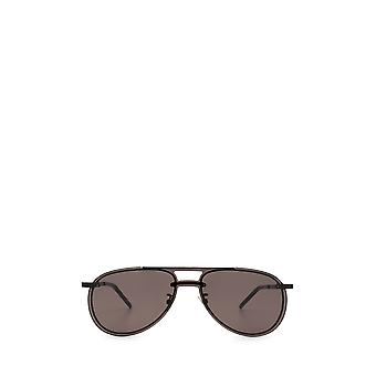 Saint Laurent SL 416 MASK schwarz unisex Sonnenbrille