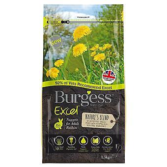 Burgess rozmíchaná směs pro králičí potraviny 1,5 kg