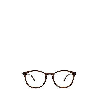 Garrett Leight KINNEY matte brandy tort unisex eyeglasses