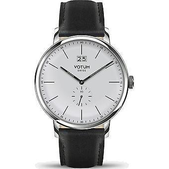 VOTUM - Reloj Unisex - VINTAGE - VINTAGE - V09.10.11.01 - correa de cuero - negro