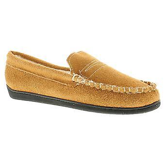 Dr Keller Sean Mens Full Leather Slippers Tan UK Size