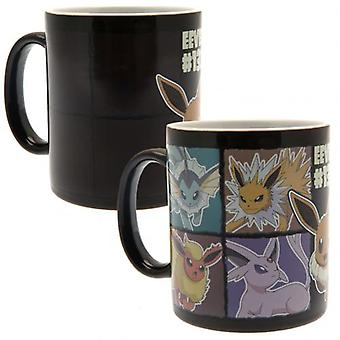 Pokemon Heat Changing Mug Eevee