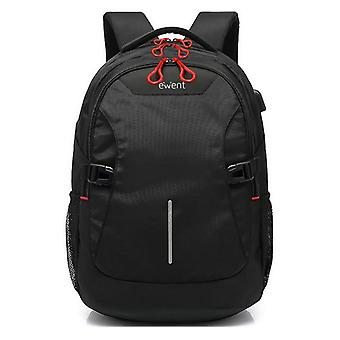 Rucksack for Laptop and Tablet with USB Output Ewent EW2526 15