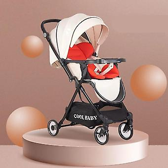 High Landscape Baby Stroller, Can Sit And Lay Two-way Shock-absorbing Child