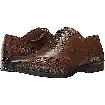 Giorgio Brutini Mens Rigby Wing Tip Oxford Leather Lace Up Dress Oxfords