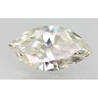 Zertifiziert 0.48 Karat I VS2 Marquise Enhanced Natural Loose Diamond 8.19x4.48mm