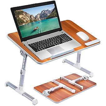 Neetto [Large Size] Adjustable Laptop Bed Table, Portable Standing Desk, Foldable Sofa Breakfast