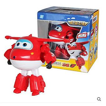 Super Wings Action Figure Toys Big Airplane Robot Super Wings Transformation Anime Cartoon Toys For Children Boys Gift