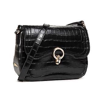 Bag Donna Liu-jo Shoulder Strap Silent Crossbody S Black Bs21lj70 Aa1088