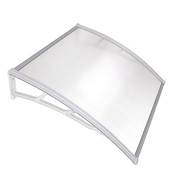 """Yescom 40""""x40"""" Outdoor Awning Patio Window Door Canopy Cover UV Protection Hollow Sheet"""