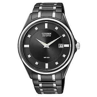 Citizen Eco-Drive Diamond Mens Watch AU1054-54G