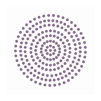 Couture Creations - Petunia Lila 3mm Pärlor (206st)