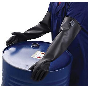 POLYCO SC104/11 Chemprotec sfoderato gomma naturale guanto 44cm taglia 11