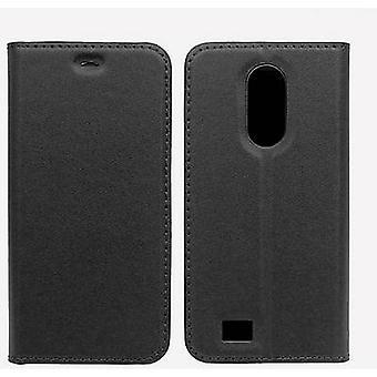 Emporia Book Cover Leder Case Emporia SMART.5 Black