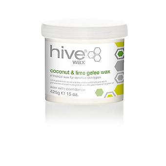 Ruche de beauté Cire huile de coco & Lime Gelee Lotion sensible cire de peau 425g