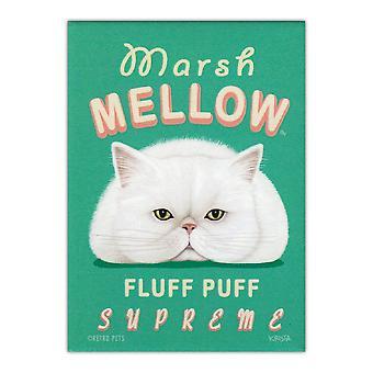 Magnet, Køleskab Magnet, Marsh Mellow Fluff Puff Supreme, 2,5&X