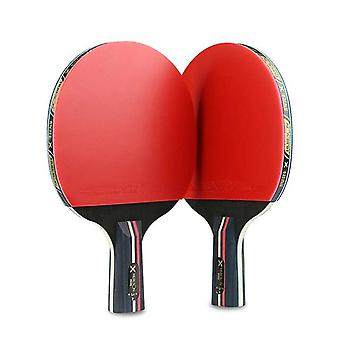 Double Face Short Handle Table Tennis Paddle
