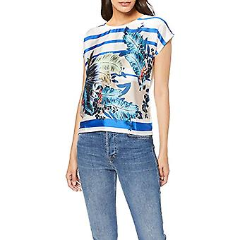More &More T-Shirt, Multicolore (Multicolor Tropical On Stripes 4331), 40 (Taille Fabricant: 34) Femme