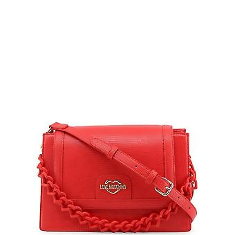 Love Moschino - Bags - Shoulder Bags - JC4265PP0CKL0-500 - Women - Red