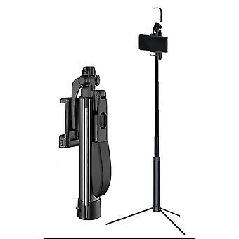 110 Cm με διπλό γέμισμα ελαφρύ ασύρματο bluetooth τηλεχειριστήριο τρίποδο selfie stick az5544
