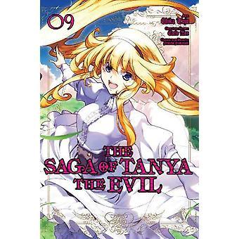 La Saga de Tanya le Mal, Vol. 9 (manga) de Carlo Zen (Broché, 2020)