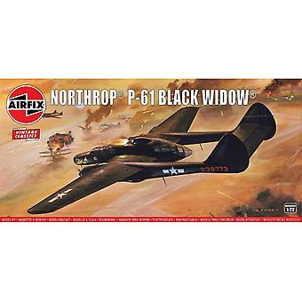 Airfix A04006V نورثروب P-61 الأرملة السوداء 1:76 مقياس نموذج كيت