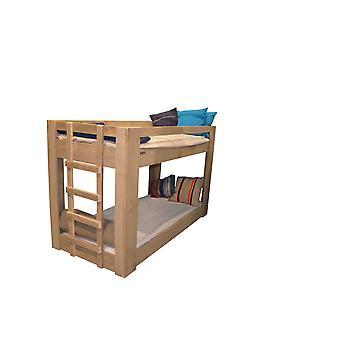Wood4you - Etagenbett Sam luca Gerüst Holz 206Lx165Hx96D cm