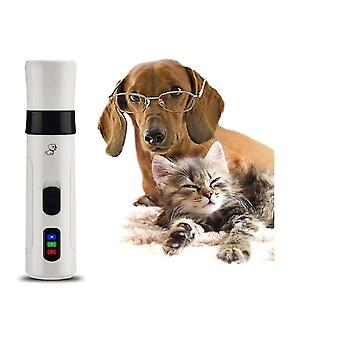 2-speed Rechargeable Pet Nail Clippers