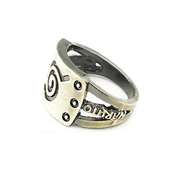 טבעת נארוטו אנימה טבעת אבץ סגנון אצבע טבעת עבור Cosplay הזהב