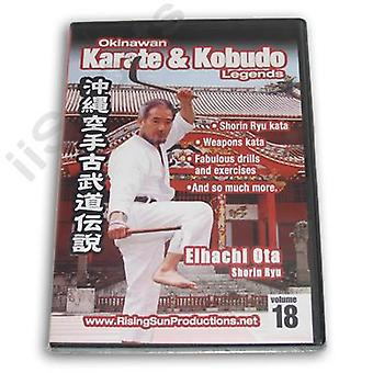 Okinawa Karaté Kobudo #18 Dvd Ota Shorin -Vd6975A
