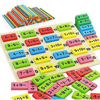 Çocukların erken eğitimi Sayısal Hesaplamalar yapı taşları, domino oyuncakları