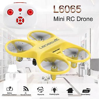 Nicce Mini RC Quadcopter Infrared Controlled Drone (Jaune)