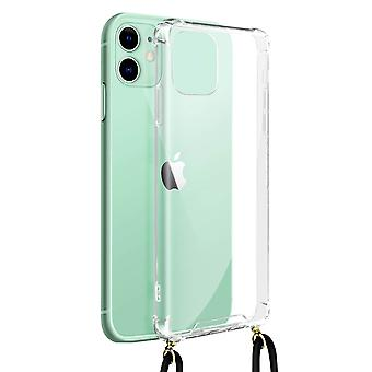 Cover Lanyard for iPhone 11 Flexible Neck Strap Clear