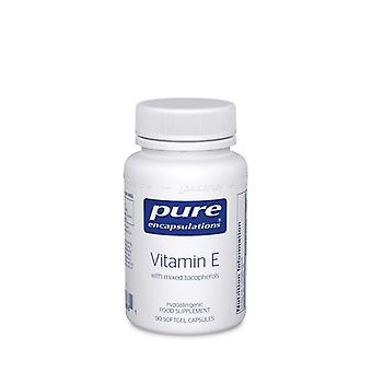 Pure Encapsulations Vitamin E (mixed tocopherols) Capsules 90 (DE9UK)