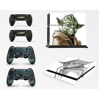 giZmoZ n gadgetZ PS4 Console Yoda From Starwars Skin Decal Vinal Sticker + 2 Controller Skins Set