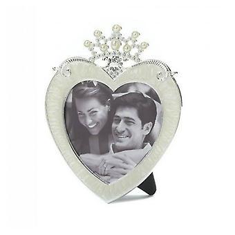 Accent Plus Princess Crown Heart Frame - 3x3, 1-es csomag