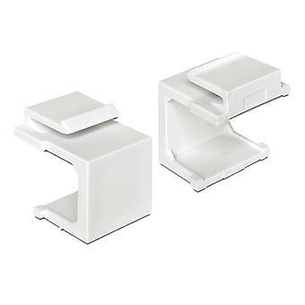 Funda Delock Keystone blanco 4 piezas
