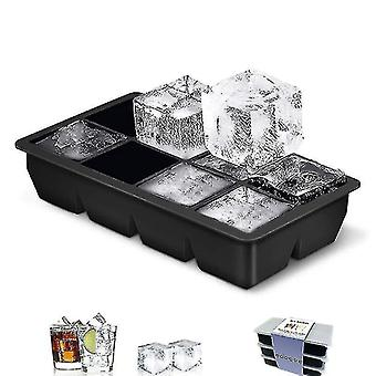 Jewelry holders 8 grids square ice cube tray mould ice cubes silicone mold diy ice cream 22cm*11.5Cm*5cm