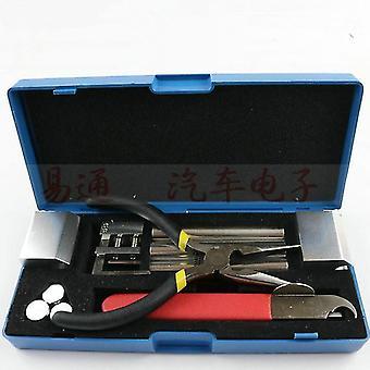 Professionele 12 in 1 huk slot demontage gereedschap slotenmaker gereedschap kit verwijderen slot repareren pick set