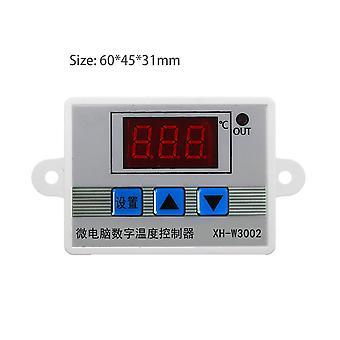 Profesionální digitální led regulátor teploty W3002 10a regulátor termostatu