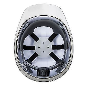 Portwest Mens Skyview Safety Helmet White One Size White