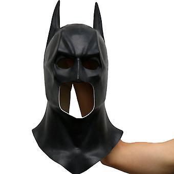 Mænd Batman Mask Halloween Party Cosplay Kostume Prop Hovedbeklædning