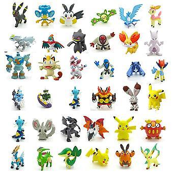 144 Pcs-set Pokemon Monster Mini Figures Jouets