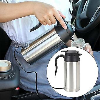 750ml 12v Electric Kettle Hot Water Boiler Car Van Portable Lorry Casual Camping