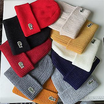 Lacoste Unisex Knitted  Beanie Hat Cap